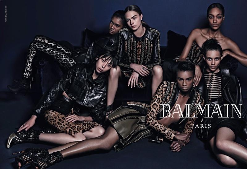 balmain-fall-2014-ad-cara-delevingne1